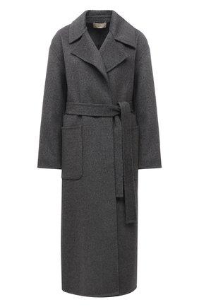 Женское шерстяное пальто MICHAEL MICHAEL KORS серого цвета, арт. MS12023GBX | Фото 1