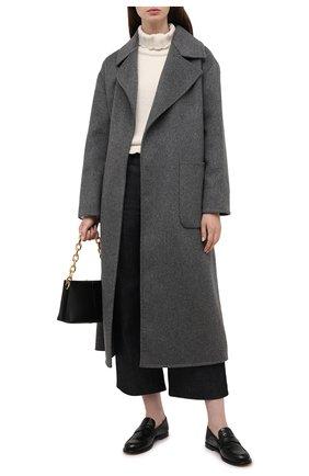 Женское шерстяное пальто MICHAEL MICHAEL KORS серого цвета, арт. MS12023GBX | Фото 2