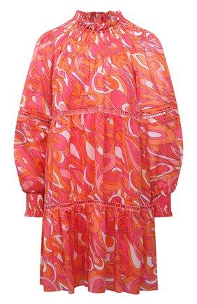 Женское хлопковое платье MICHAEL MICHAEL KORS разноцветного цвета, арт. MU1808L2DH | Фото 1