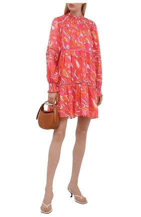 Женское хлопковое платье MICHAEL MICHAEL KORS разноцветного цвета, арт. MU1808L2DH | Фото 2