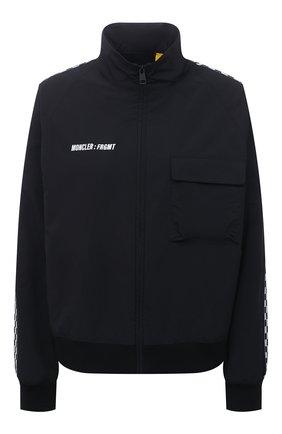 Женская куртка 7 moncler frgmt hiroshi fujiwara MONCLER GENIUS черного цвета, арт. G2-09U-2F000-02-5499N   Фото 1