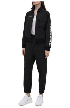 Женская куртка 7 moncler frgmt hiroshi fujiwara MONCLER GENIUS черного цвета, арт. G2-09U-2F000-02-5499N   Фото 2