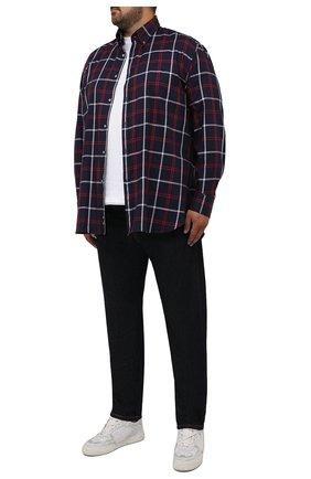 Мужская сорочка PAUL&SHARK темно-синего цвета, арт. 11313178/C00/48-50 | Фото 2