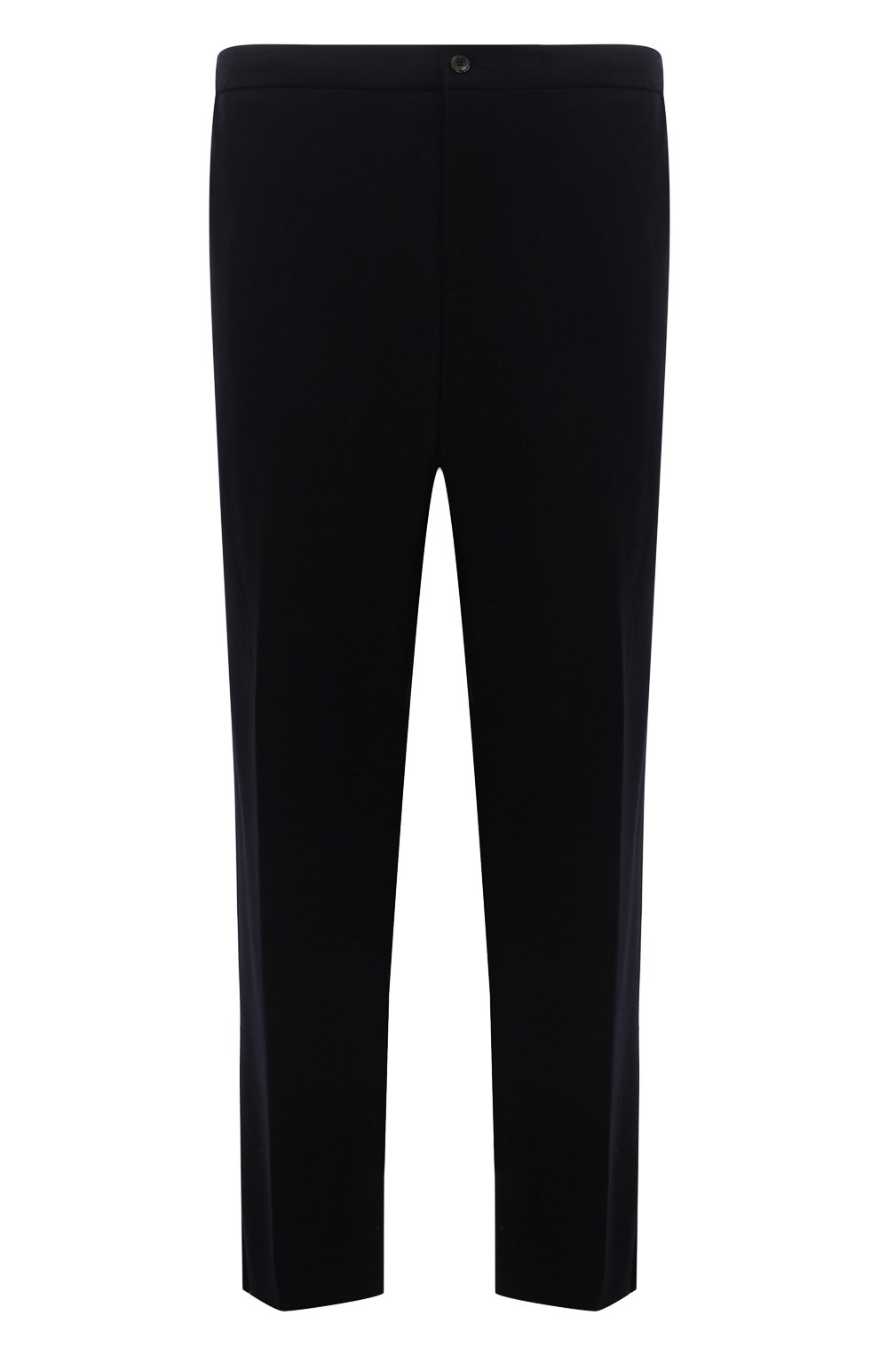 Мужские кашемировые брюки MARCO PESCAROLO темно-синего цвета, арт. CHIAIAM/ZIP+RIS/4442 | Фото 1 (Big sizes: Big Sizes; Материал внешний: Шерсть, Кашемир; Длина (брюки, джинсы): Стандартные; Случай: Повседневный; Стили: Кэжуэл)
