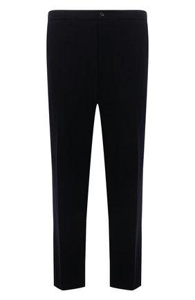 Мужские кашемировые брюки MARCO PESCAROLO темно-синего цвета, арт. CHIAIAM/ZIP+RIS/4442 | Фото 1 (Длина (брюки, джинсы): Стандартные; Материал внешний: Шерсть, Кашемир; Случай: Повседневный; Стили: Кэжуэл; Big sizes: Big Sizes)