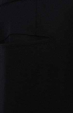 Мужские кашемировые брюки MARCO PESCAROLO темно-синего цвета, арт. CHIAIAM/ZIP+RIS/4442 | Фото 5 (Big sizes: Big Sizes; Материал внешний: Шерсть, Кашемир; Длина (брюки, джинсы): Стандартные; Случай: Повседневный; Стили: Кэжуэл)