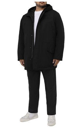 Мужская утепленная парка KIRED черного цвета, арт. WTIK02W7008012001/62-74 | Фото 2