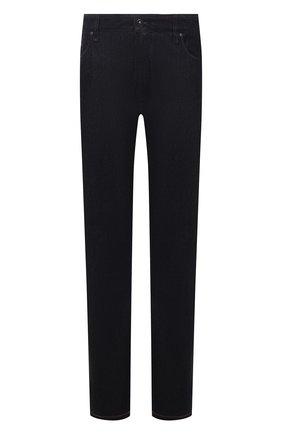 Мужские джинсы CORTIGIANI темно-синего цвета, арт. 213501/S409/0000/4950/60-70 | Фото 1