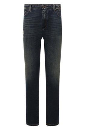Мужские джинсы CORTIGIANI синего цвета, арт. 213532/S409/0000/3020/60-70 | Фото 1