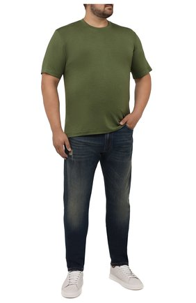 Мужские джинсы CORTIGIANI синего цвета, арт. 213532/S409/0000/3020/60-70 | Фото 2