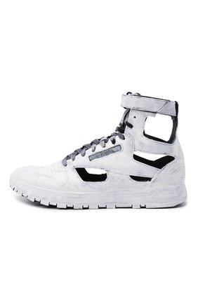 Мужские кроссовки tabi maison margiela x reebok classic MAISON MARGIELA белого цвета, арт. S37WS0569/P4242 | Фото 3 (Стили: Гранж; Материал внутренний: Текстиль; Подошва: Массивная)