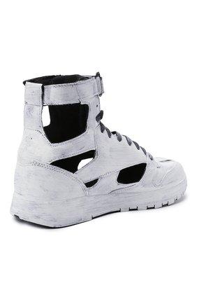 Мужские кроссовки tabi maison margiela x reebok classic MAISON MARGIELA белого цвета, арт. S37WS0569/P4242 | Фото 4 (Стили: Гранж; Материал внутренний: Текстиль; Подошва: Массивная)