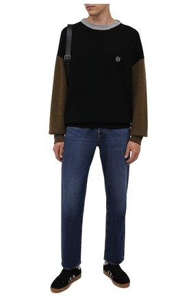 Мужские замшевые кеды andy PREMIATA черного цвета, арт. ANDY/VAR5523 | Фото 2