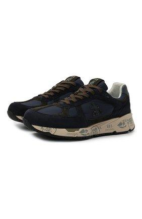 Мужские комбинированные кроссовки mase PREMIATA темно-синего цвета, арт. MASE/VAR5398 | Фото 1