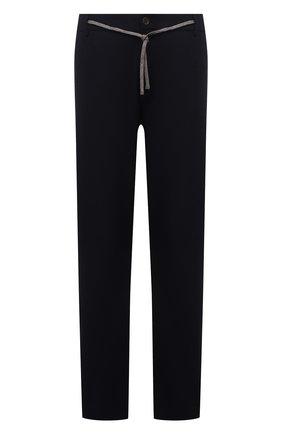 Мужские шерстяные брюки CANALI темно-синего цвета, арт. V1659/AR03472/60-64   Фото 1