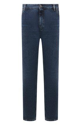 Мужские джинсы BRIONI синего цвета, арт. SPPF0M/01D05/CHAM0NIX | Фото 1 (Длина (брюки, джинсы): Стандартные; Материал внешний: Хлопок; Кросс-КТ: Деним; Силуэт М (брюки): Прямые; Стили: Классический)