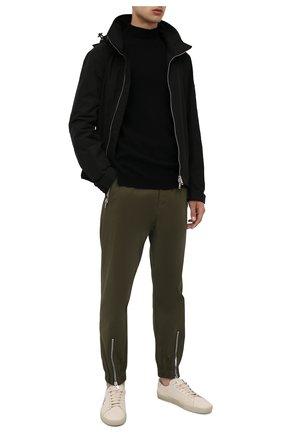 Мужской свитер из кашемира и шерсти RICK OWENS черного цвета, арт. RU02A5683/WSBR | Фото 2