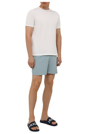 Мужские плавки-шорты ORLEBAR BROWN серо-голубого цвета, арт. 273657 | Фото 2