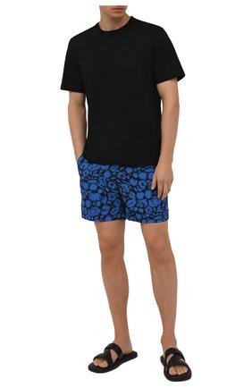 Мужские плавки-шорты ORLEBAR BROWN синего цвета, арт. 273661 | Фото 2