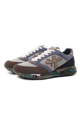 Мужские комбинированные кроссовки zac-zac PREMIATA разноцветного цвета, арт. ZACZAC/VAR5366 | Фото 1