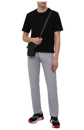 Мужские комбинированные кроссовки maple 64 DSQUARED2 черного цвета, арт. SNM0184 01601683 | Фото 2