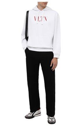 Мужские кожаные кроссовки legend DSQUARED2 белого цвета, арт. SNM0196 01504324 | Фото 2