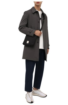 Мужская текстильная сумка LANVIN черного цвета, арт. LM-BGSSH1-NYL0-A21   Фото 2