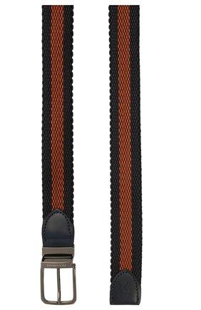 Мужской ремень PAUL&SHARK коричневого цвета, арт. 11316002/IEX | Фото 2