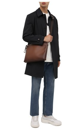 Мужская кожаная сумка RALPH LAUREN коричневого цвета, арт. 437854325   Фото 2