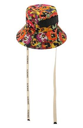 Женская хлопковая панама LOEWE разноцветного цвета, арт. K820HF1X20 | Фото 2 (Материал: Хлопок, Текстиль)