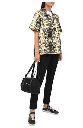 Женские кожаные кеды andy-d PREMIATA черно-белого цвета, арт. ANDYD/VAR5529 | Фото 2