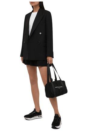 Женские комбинированные кроссовки conny PREMIATA черного цвета, арт. C0NNY/VAR5330 | Фото 2