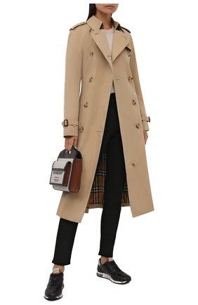 Женские кожаные кроссовки lucy-d PREMIATA черного цвета, арт. LUCYD/VAR5304 | Фото 2
