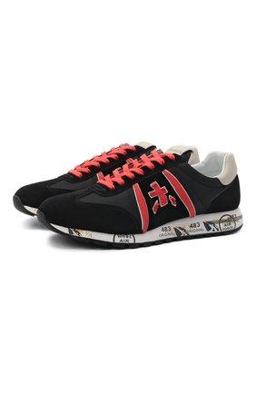 Женские комбинированные кроссовки lucy-d PREMIATA черного цвета, арт. LUCYD/VAR5307 | Фото 1