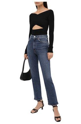 Женские джинсы AGOLDE синего цвета, арт. A095-1255 | Фото 2