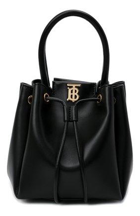Женская сумка bucket BURBERRY черного цвета, арт. 8028541 | Фото 1