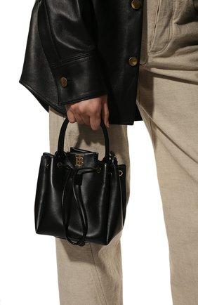 Женская сумка bucket BURBERRY черного цвета, арт. 8028541 | Фото 2