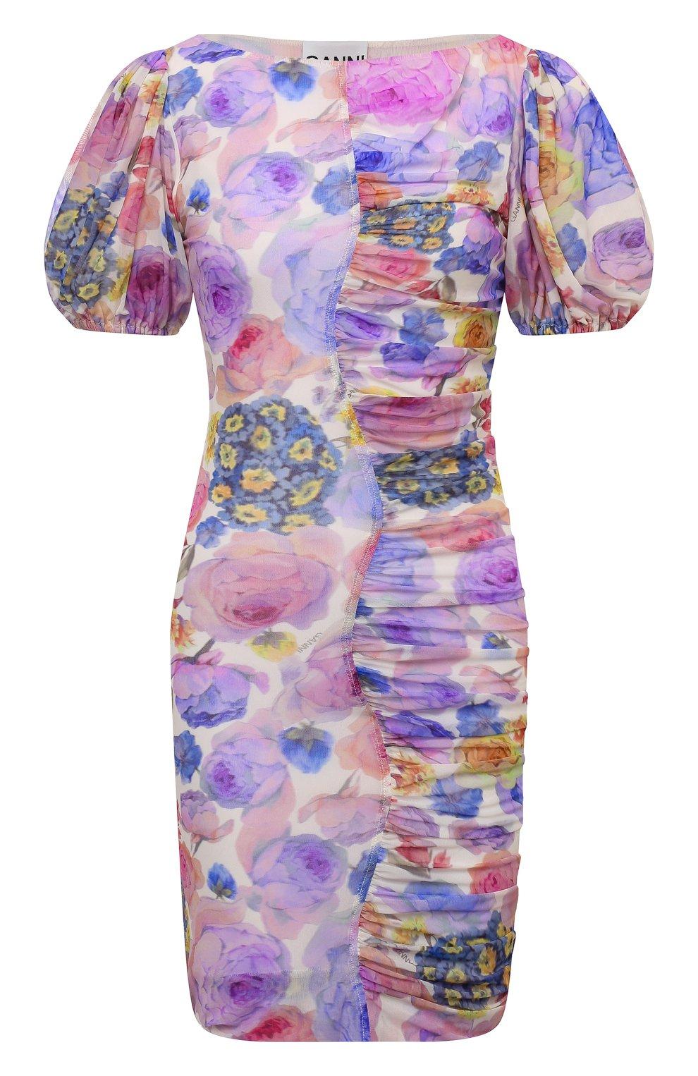 Женское платье GANNI разноцветного цвета, арт. T2891   Фото 1