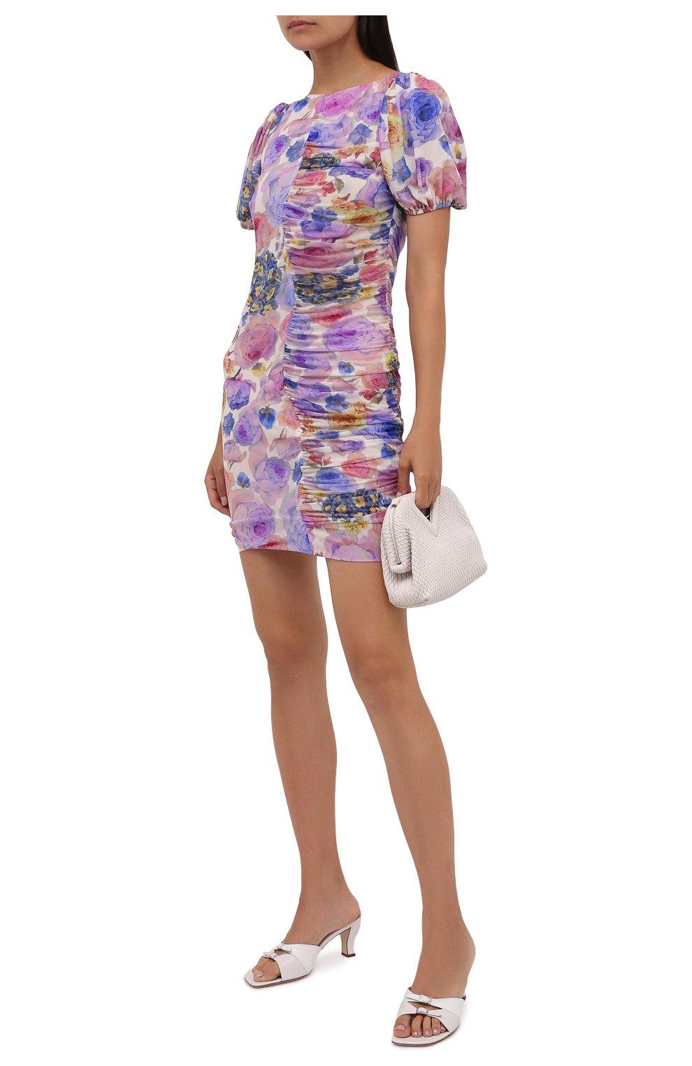 Женское платье GANNI разноцветного цвета, арт. T2891   Фото 2