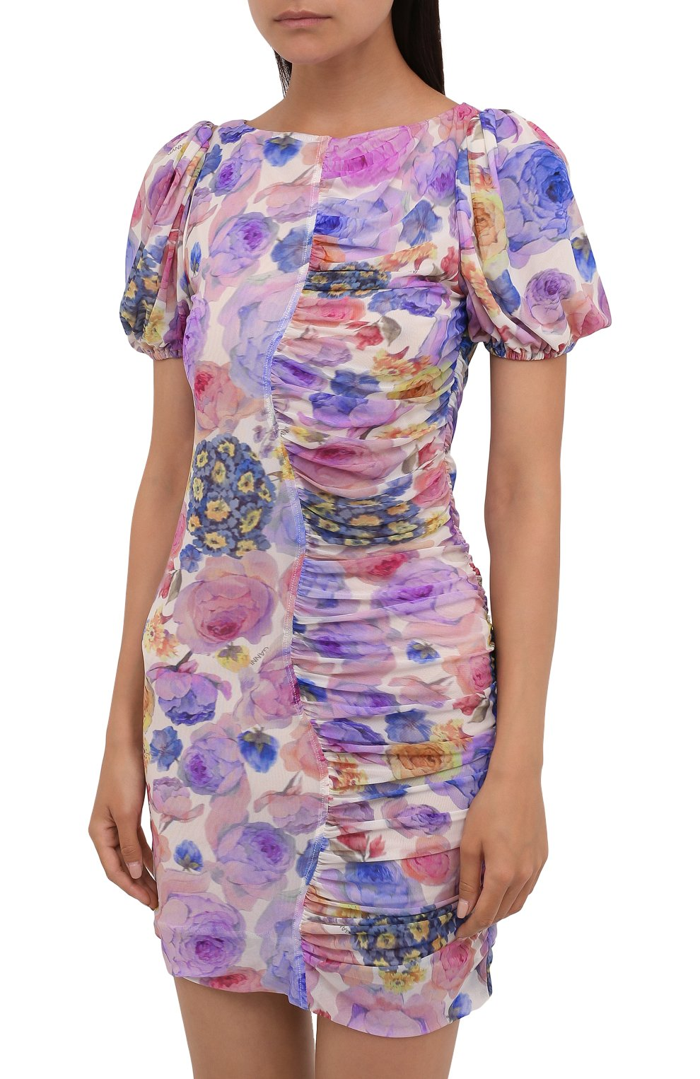 Женское платье GANNI разноцветного цвета, арт. T2891   Фото 3