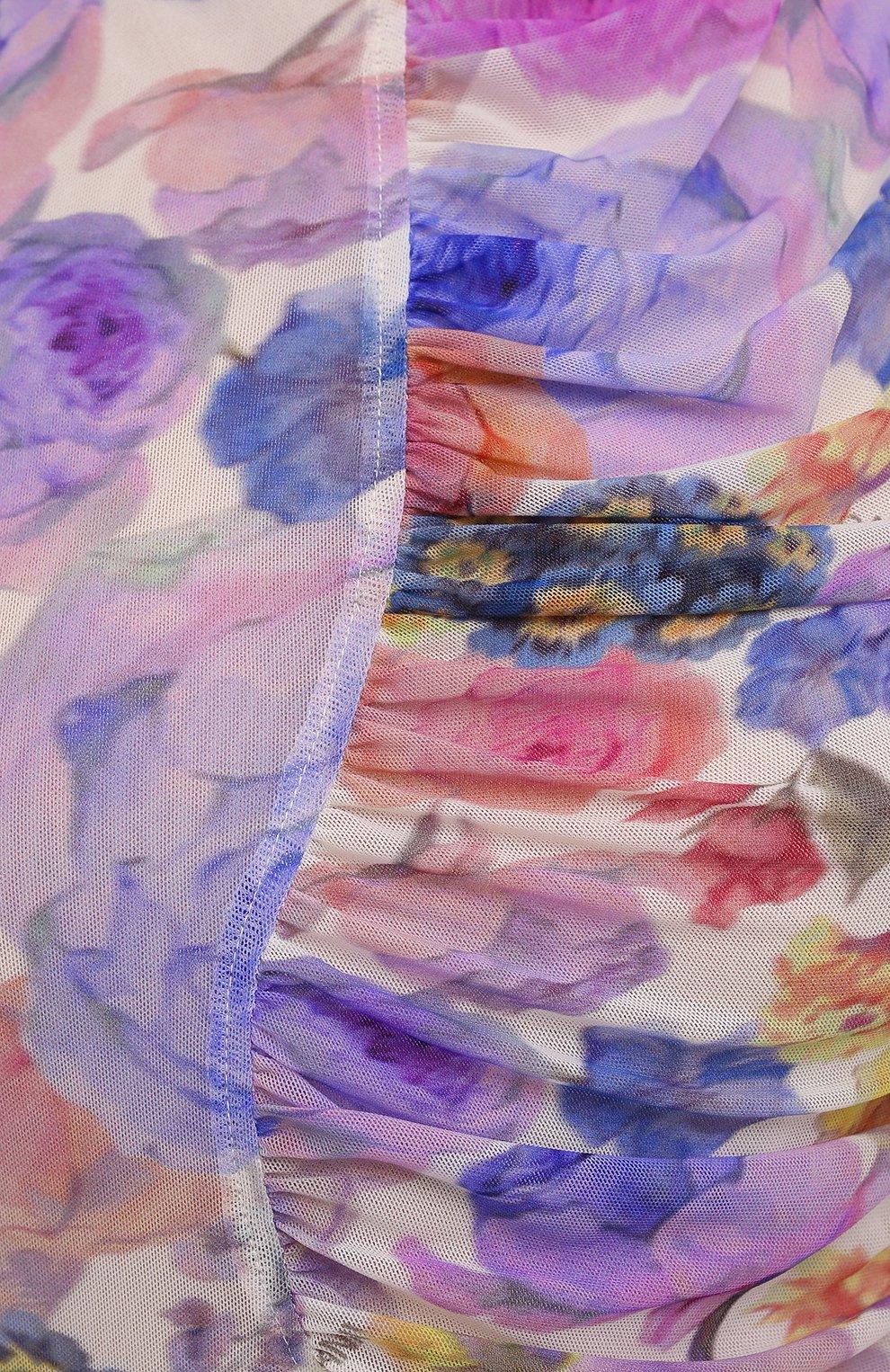 Женское платье GANNI разноцветного цвета, арт. T2891   Фото 5