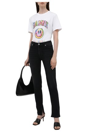 Женские джинсы GANNI темно-серого цвета, арт. F6020   Фото 2