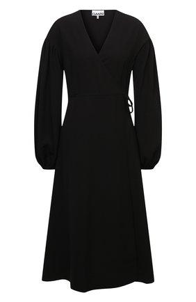 Женское платье GANNI черного цвета, арт. F5806   Фото 1