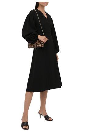 Женское платье GANNI черного цвета, арт. F5806   Фото 2