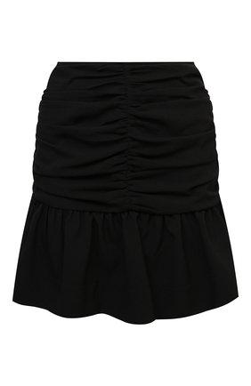 Женская юбка GANNI черного цвета, арт. F5805   Фото 1