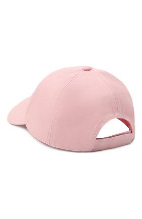 Женская хлопковая бейсболка GANNI светло-розового цвета, арт. A3430   Фото 2