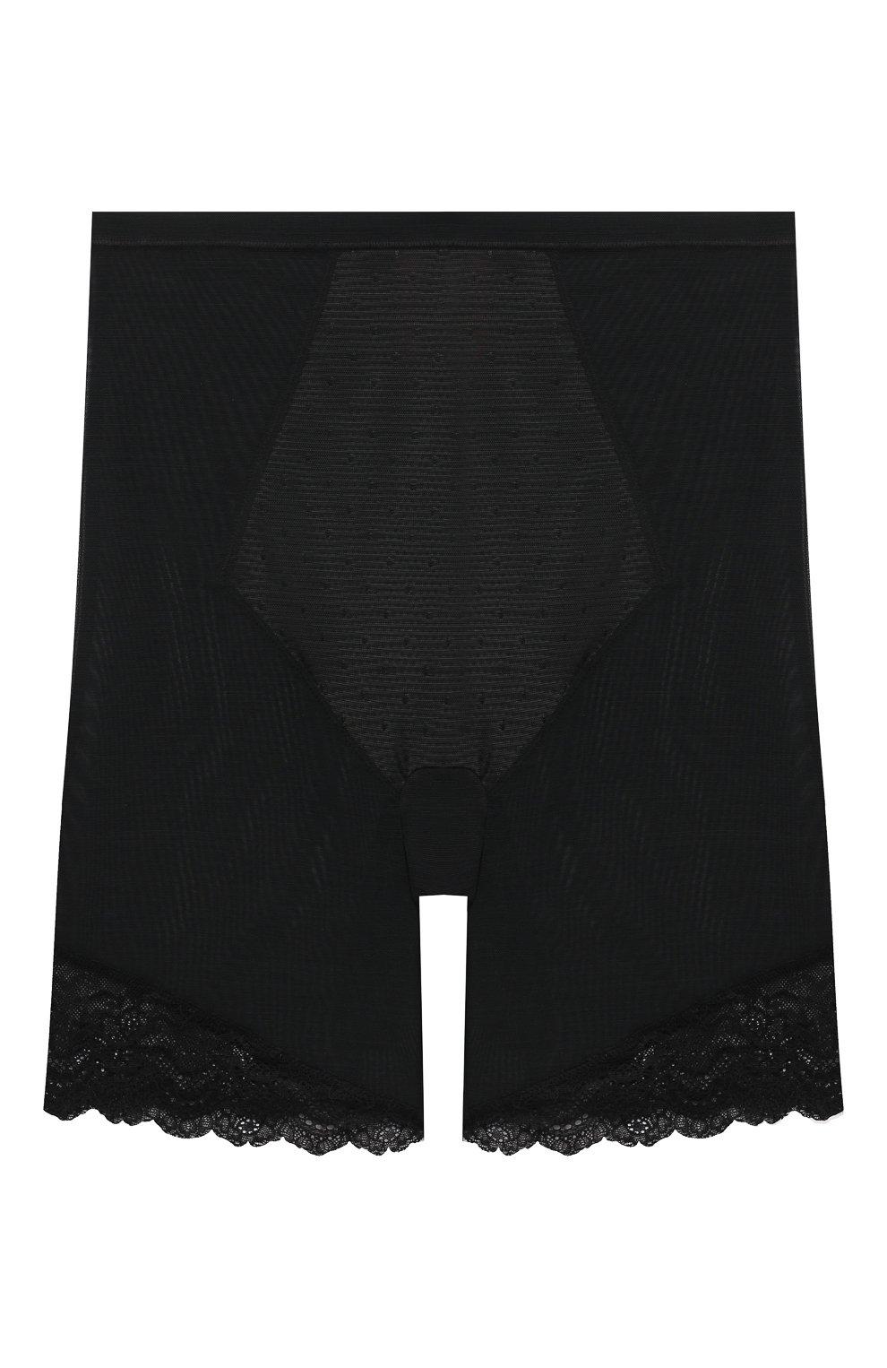 Женские корректирующие шорты SPANX черного цвета, арт. 10220R   Фото 1 (Женское Кросс-КТ: Шорты; Длина Ж (юбки, платья, шорты): Мини; Материал внешний: Синтетический материал)