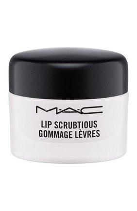 Скраб для губ lip scrubtious, оттенок sweet vanilla MAC бесцветного цвета, арт. S4XX-01   Фото 1