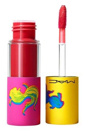 Блеск для губ versicolour varnish cream lip stain, like candy (8.5ml) MAC бесцветного цвета, арт. SLAE-03   Фото 1