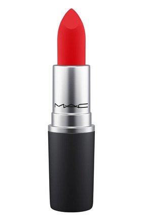 Губная помада powder kiss lipstick, оттенок you're buggin', lady (3g) MAC бесцветного цвета, арт. S4K0-44   Фото 1